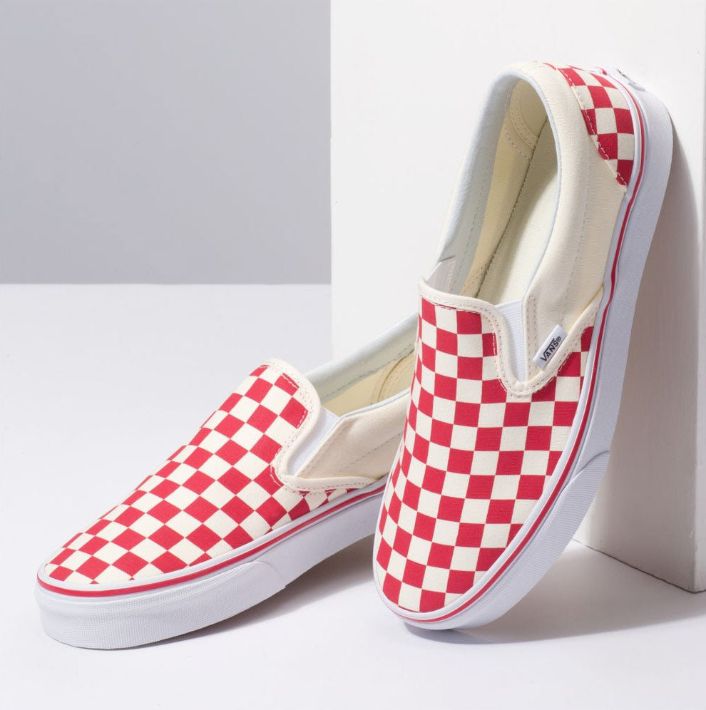 4395ce84133 Vans Classic Checkerboard Slip-On Shoes – Mainland Skate   Surf