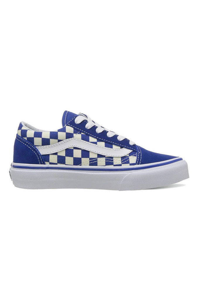 Vans Kids Primary Check Old Skool Shoes