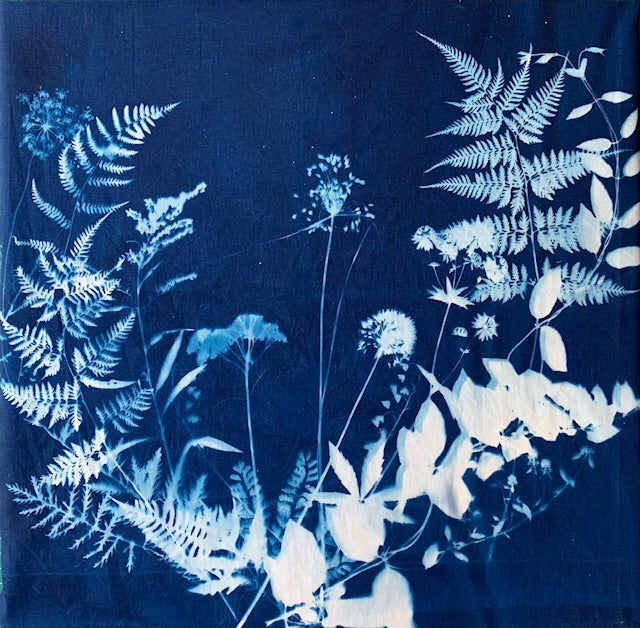 Cyanotype Bandana Making Class May 18th, 9am-11pm