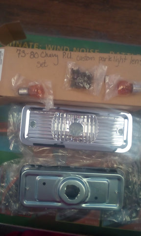 73-80 Chevy P.U. custom park light lens
