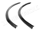 66-70 Dodge Plymouth Rear Roll-up Window Seals (Pair)