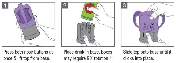 How to use My Drinky