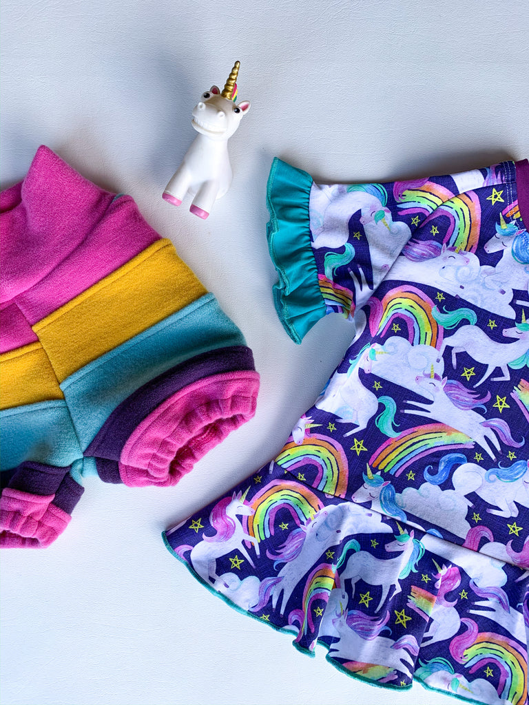 We just listed the cutest unicorn outfit!