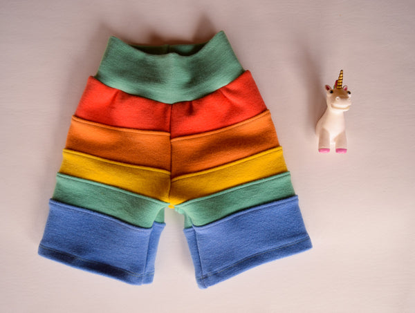 Sun-kissed Spectrum, Wool Shorts