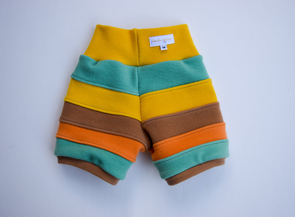 Roller Rink Wool Shorts