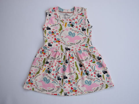 Organic Cotton Play Dress, Folklore- Fairyland