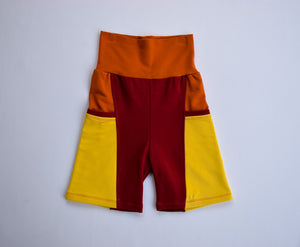 Sun, Organic Bamboo pocket shorts