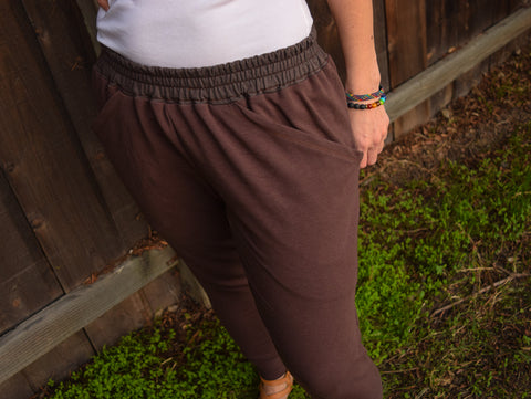 Womens Organic Bamboo Garage Pants