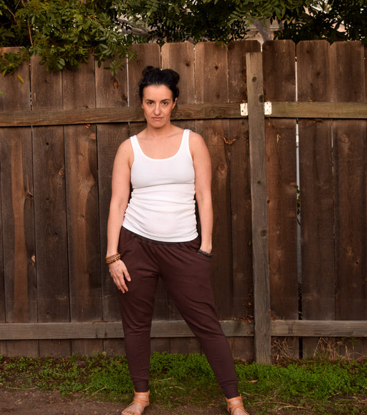 Womens Organic Bamboo Garage Pants (formerly harem pants)