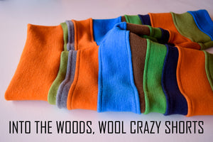 Into the Woods, Merino Wool Shorts, Crazy Style
