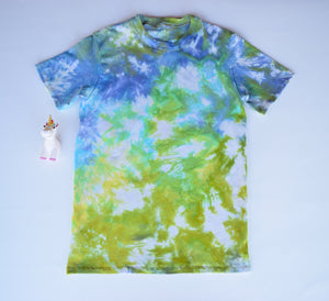 Size 14, Earthly Elements, LWI Tie Dyed, Standard Tee, short sleeves