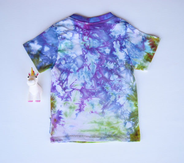 Size 3t, Earthly Elements, LWI Tie Dyed, Standard Tee, short sleeves