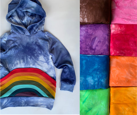 You Pick Color, Organic Bamboo hoodie, kids