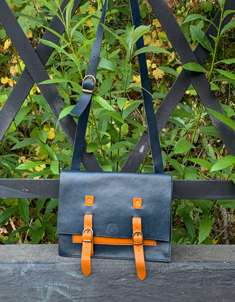 Cartella Book Bag, by Sunday V Style, Italian Leather