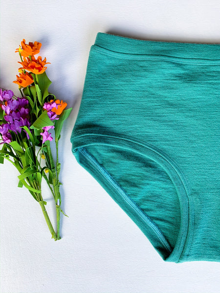 Women's Wool Hi-rise Undies, multiple sizes available