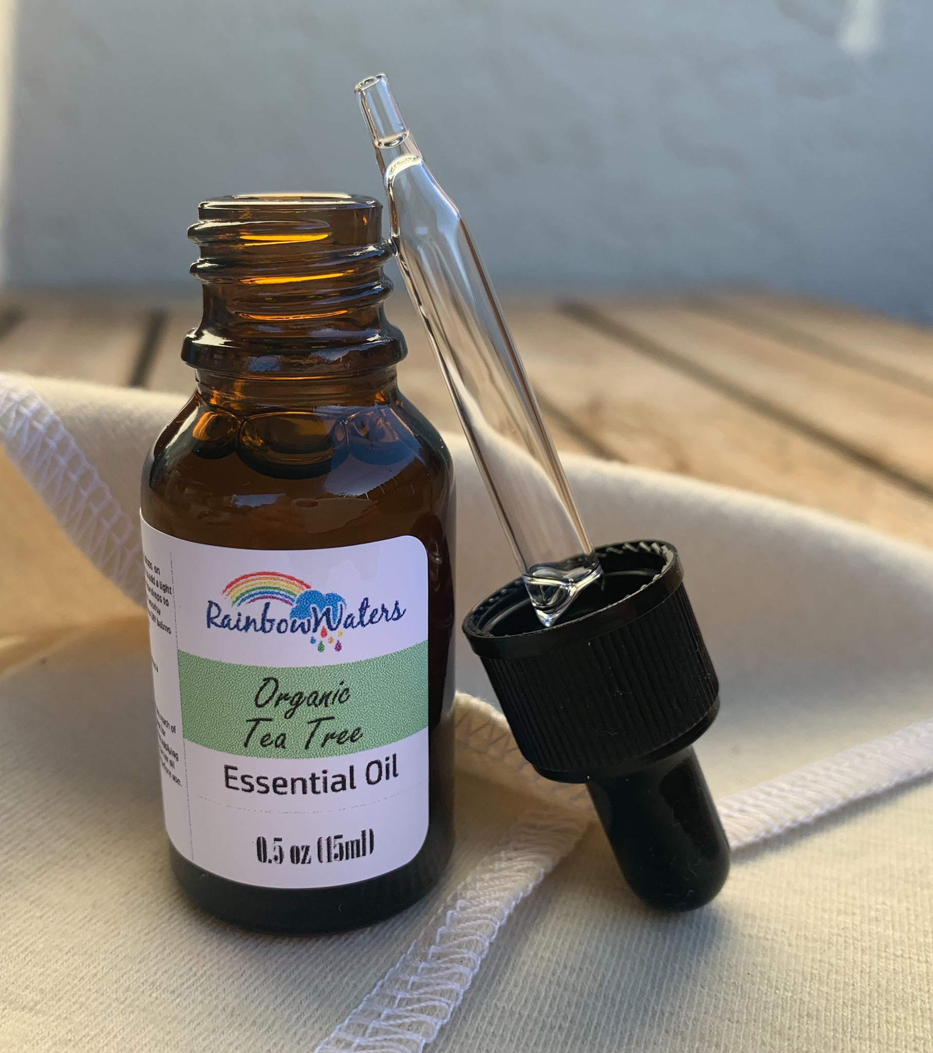 Pure Organic Tea Tree Essential Oil, 0.5oz (15ml)