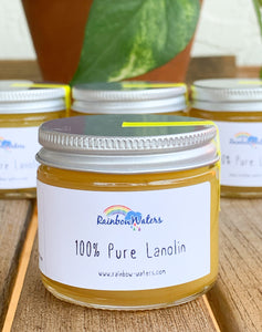 100% Pure Lanolin, 2oz or 4oz glass jar