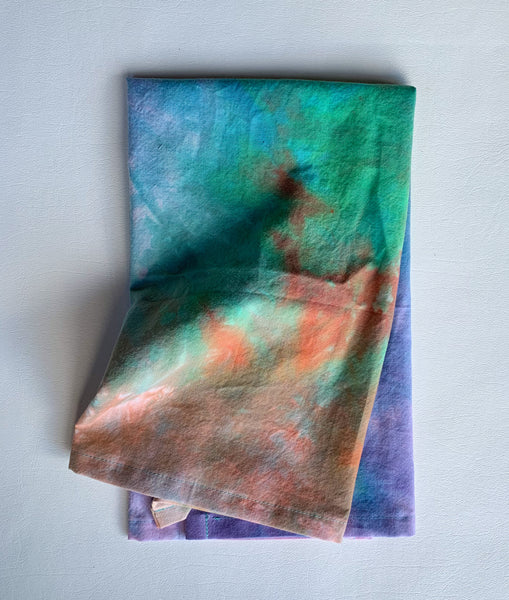 Hand Dyed Tea Towel
