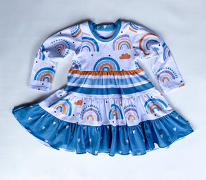 Retro Rainbow Crazy Play Dress
