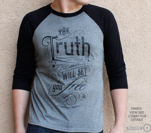 Risen Apparel-The Truth will set you free jersey