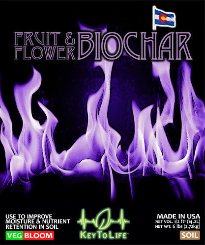 Fruit & Flower Biochar