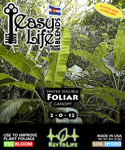 Easy Foliar - Front Label