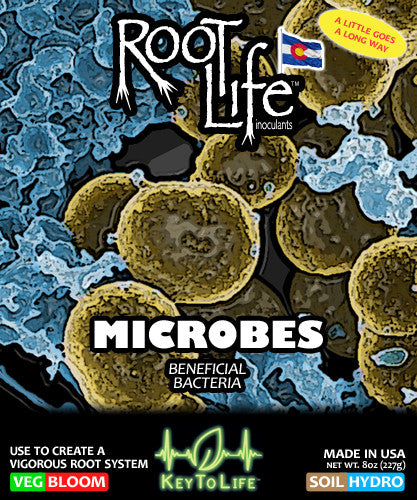 Root Life Microbes - Front Label
