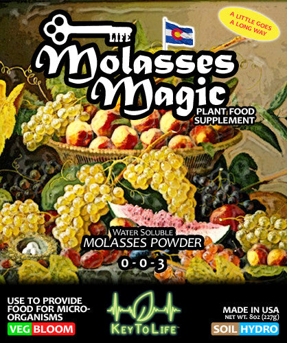 Molasses Magic - Front Label
