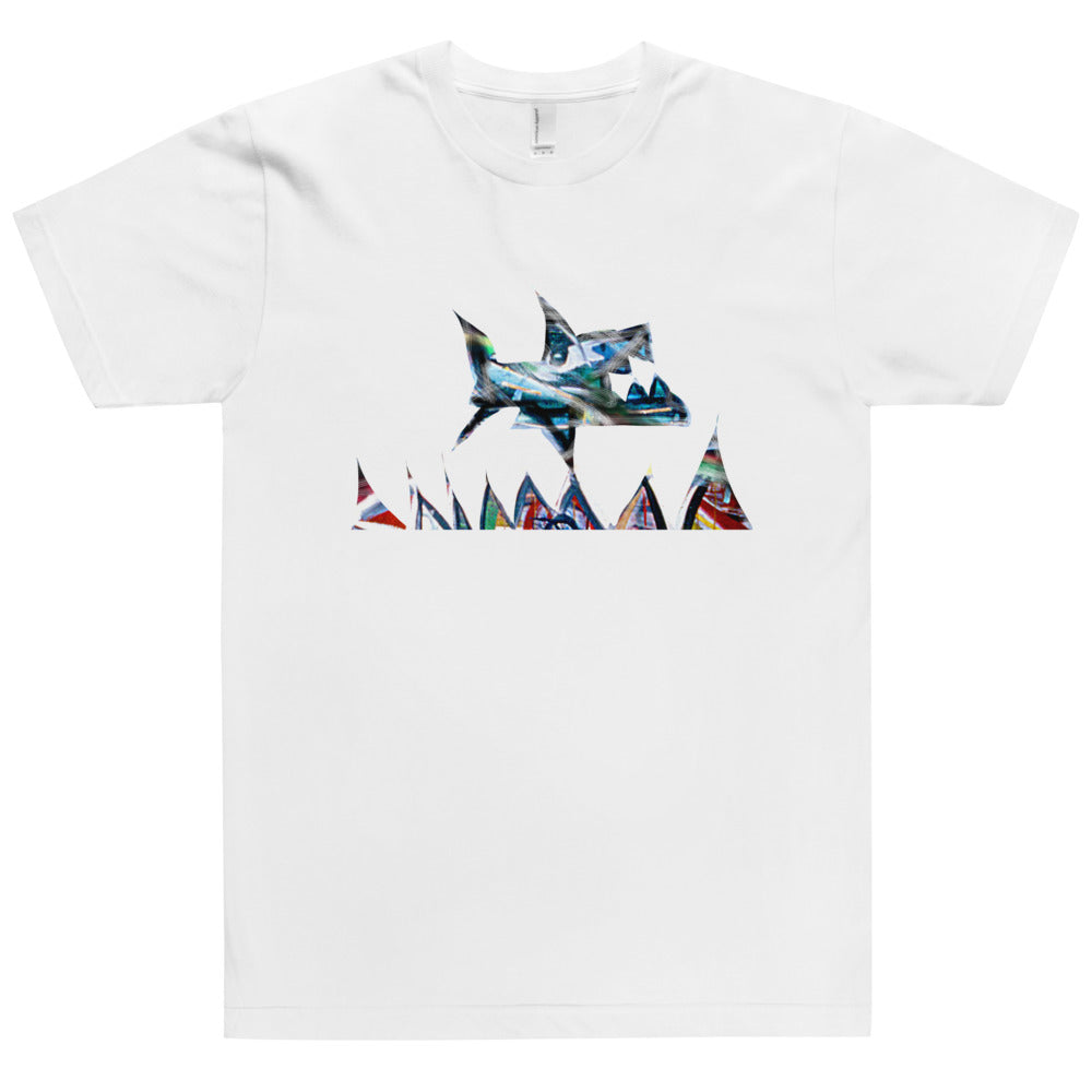 Shark Key  - David Hinnebusch Comix - T-Shirt
