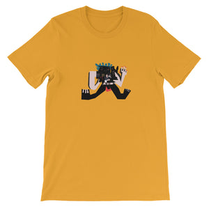 High Airy Goat - David Hinnebusch Comix - Short-Sleeve Unisex T-Shirt