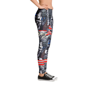 Entropy Punk Rock Leggings - Hinneline Designs