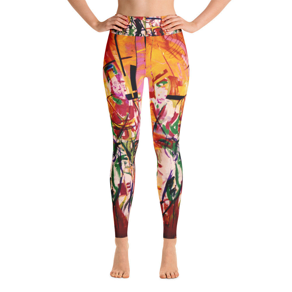 Warrior Dance Yoga Leggings - Hinneline
