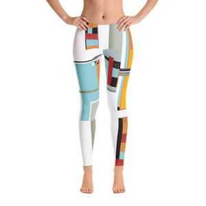 Hinnerail Expo 2017 Leggings - Hinneline by David Hinnebusch Designs