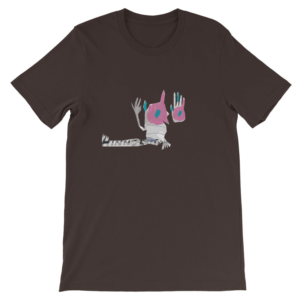 Scrubby Turn the Lights Off - David Hinnebusch Comix - Short-Sleeve Unisex T-Shirt