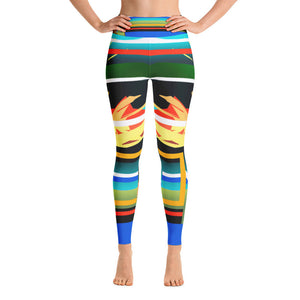 Yoga Warriors - Hinneline Leggings