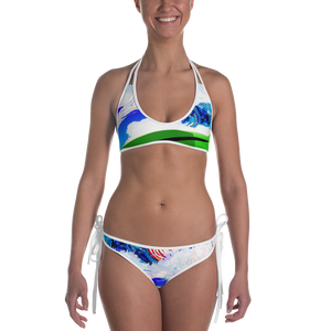 George Surfing Bikini - David Hinnebusch Designs