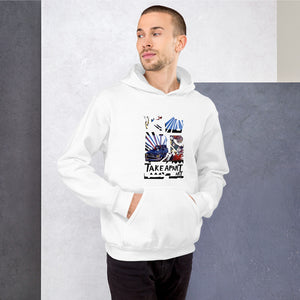 Take Apart Art - David Hinnebusch Comix - Unisex Hoodie