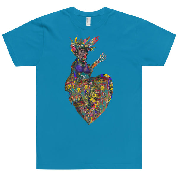 Hearts on Fire - David Hinnebusch Comix - T-Shirt