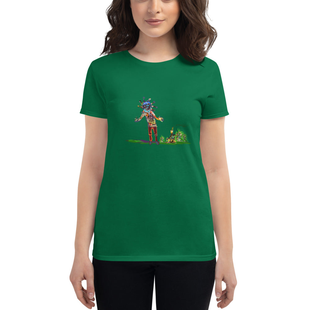 The Hills Saw a Lie - David Hinnebusch Comix - Women's short sleeve t-shirt