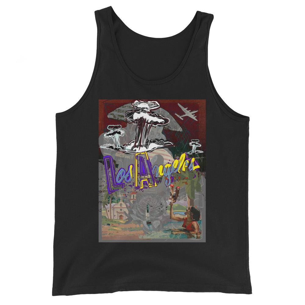 19th David Hinnebusch Comix - Unisex Tank Top
