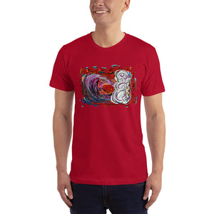 Red Wave - David Hinnebusch Comix - T-Shirt