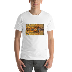 SLOW DOWN YOU David Hinnebusch Artworks Short-Sleeve Unisex T-Shirt