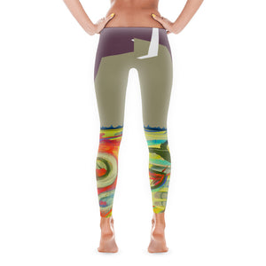 Viks & Squid - David Hinnebusch Artworks - Leggings