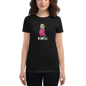 Morning Walk -- Women's short sleeve t-shirt