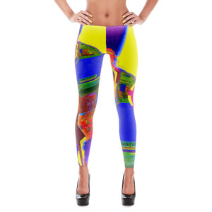 Venice Hair - Hinneline Designs - Leggings