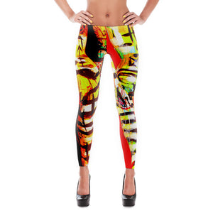 Hot Stripes - Hinne-quin Mannequins - Hinneline Designs- Leggings