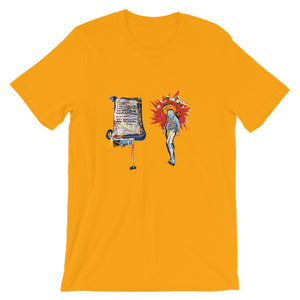 Sane Tea - David Hinnebusch Comix - Short-Sleeve Unisex T-Shirt