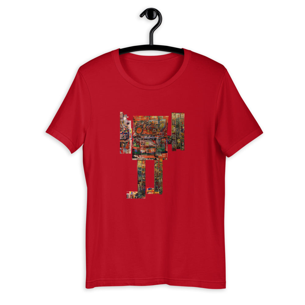 Robot Giant - David Hinnebusch Comix - Short-Sleeve Unisex T-Shirt