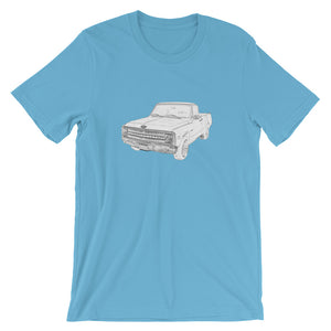 C-10 - David Hinnebusch Comix - Short-Sleeve Unisex T-Shirt
