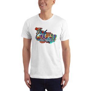 California - David Hinnebusch Comix - T-Shirt